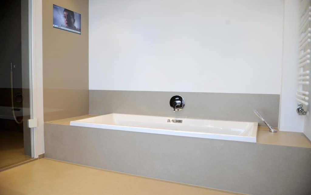 Badezimmer als Private-Spa  