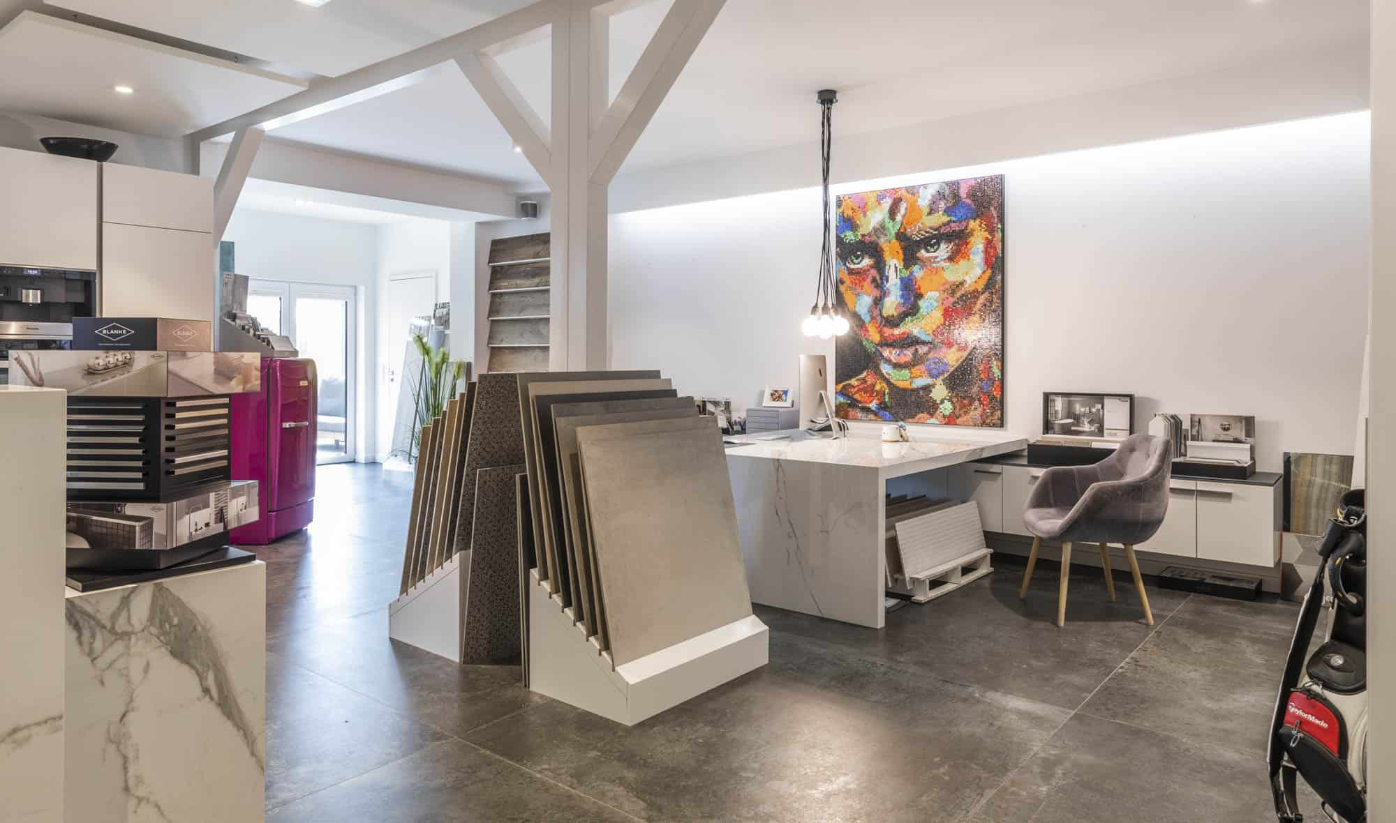 Fliesen Design Showroom Fliesen Handel in der Region Lübeck